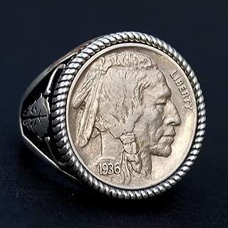 1936 indian head nickel ring