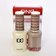 DND DAISY GEL UV NAIL POLISH - DUO SET(Gel + Lacquer) 604 - Cool Gray