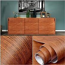 Wallpaper Wood Wallpaper, Waterproof PVC Wallpaper Roll, Furniture/Wall/Door Decoration Stickers, Self-adhesive Wallpaper,...