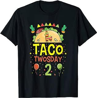 Taco Twosday 2 Two Year Old Boy Girl Birthday Gift T-Shirt