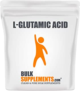Bulksupplements L-Glutamic Acid Powder (250 Grams)