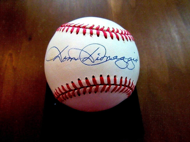 Dom DiMaggio Autographed Ball  7 X All Star VTG Oal Gem  JSA Certified  Autographed Baseballs