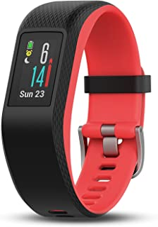 Garmin vívosport, Fitness/Activity Tracker with GPS and Heart Rate Monitoring, Pink