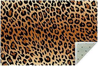 FBGood Serviette de Plage A Tapis de Yoga L/éopard de Nappe de Couverture de Douche de Serviette de Douche de Piscine de Piscine de Plage Serviette de Plage Nappe Tapis de Yoga