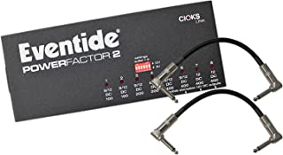 Eventide PowerFactor Power Factor 2 Pedal Power Supply w/ 2 Patch Cables
