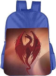 Dragon's Bane Skyrim Dragon Kids School Backpack Bag