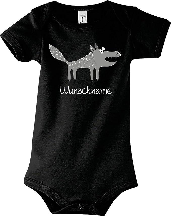 Shirtstown Body para beb/é dise/ño de lobo