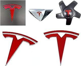 tesla emblem sticker