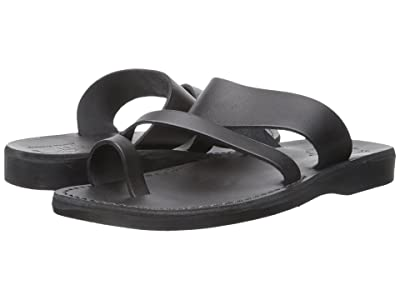 Jerusalem Sandals Zohar Mens (Black) Men