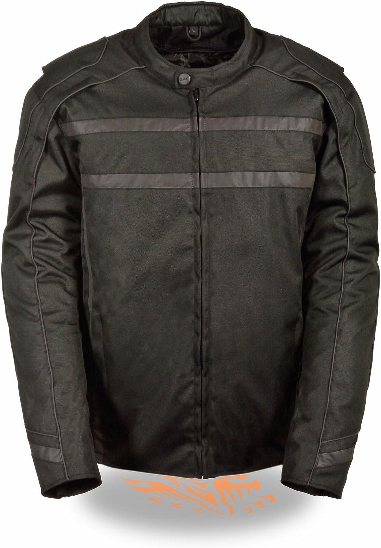 Milwaukee Leather Men's Vented Textile Jacket 海外並行輸入正規品 w Visibility High 新作