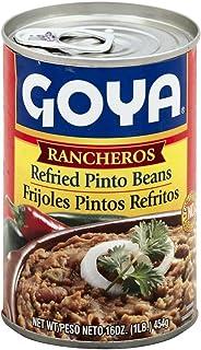 Goya Refried Ranchero Beans 16.0 OZ(Pack of 3)