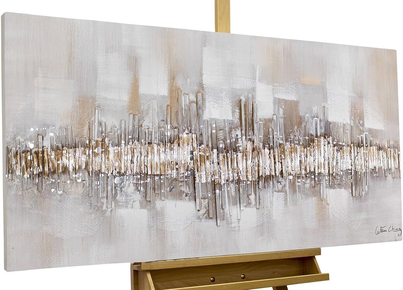 KunstLoft® Acryl Gemälde \'City Outline\' 120x60cm original ...