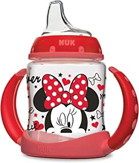NUK Disney Learner Sippy Cup, Minnie Mouse, 5oz 1pk