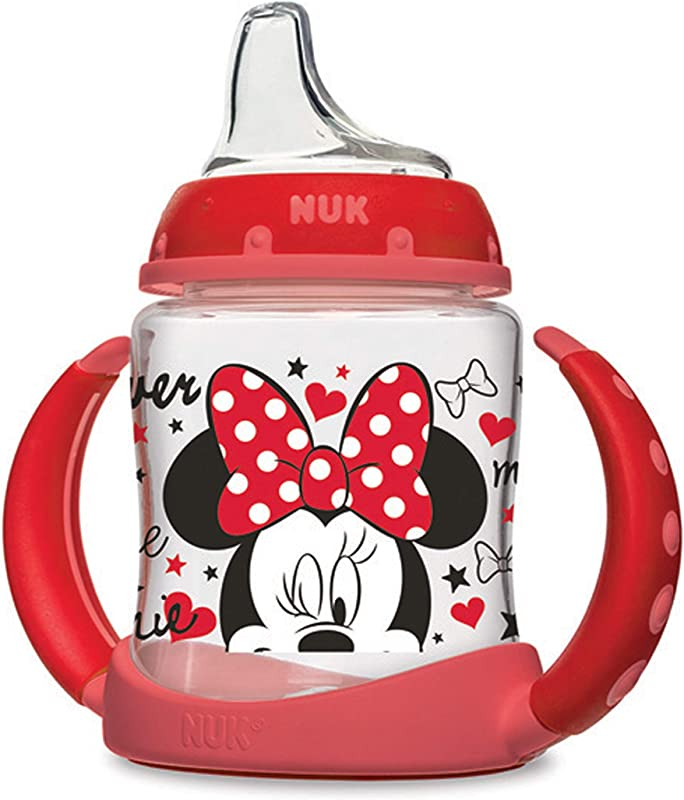 NUK Disney Learner Sippy Cup Minnie Mouse 5oz 1pk