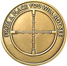 Vendetta Oath Keeper Promise Heads & Tails Challenge Coin - Gift for Men!