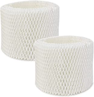 Extolife 2 Pack Replacement Humidifier Filter for Vicks & Kaz WF2 Humidifier V3100, V3500, V3500N, V3600, V3700, V3800, V3850, V3850JUV, V3900, V3900JUV, VEV320, 3020, ECM-250i, ECM-500, WA-8D (2)
