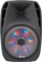 QFX PBX-61152BTL Battery Powered Bluetooth Portable Party Speaker - Black
