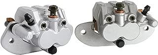 NICECNC Rear Left & Right Brake Caliper with Pads set for YAMAHA UTV RHINO 700 2008 2009 2010 2011 2012 2013