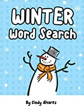 Winter Word Search: Large Print Word Search Puzzles for Adults & Kids (Snow Day Activity Books)