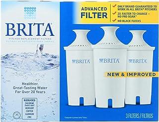 Brita - 水投手替换过滤器 - 3 过滤器