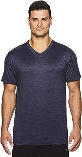 Gaiam Men's Everyday Basic V Neck T Shirt - Short Sleeve Yoga & Workout Top