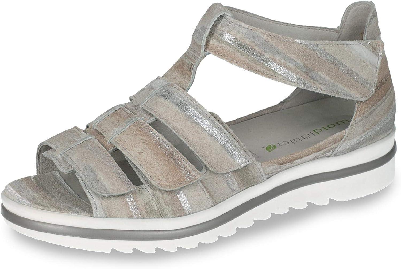351802 192 230 Hakura Damen Sportive Sandale aus Veloursleder WeiteH