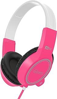 MEE audio KidJamz 3 Child Safe Headphones for Kids with Volume-Limiting Technology (Pink)