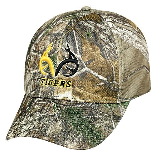 new york fff63 de752 Realtree Logo Missouri Tigers Mizzou Camo Hat Stretch One Fit