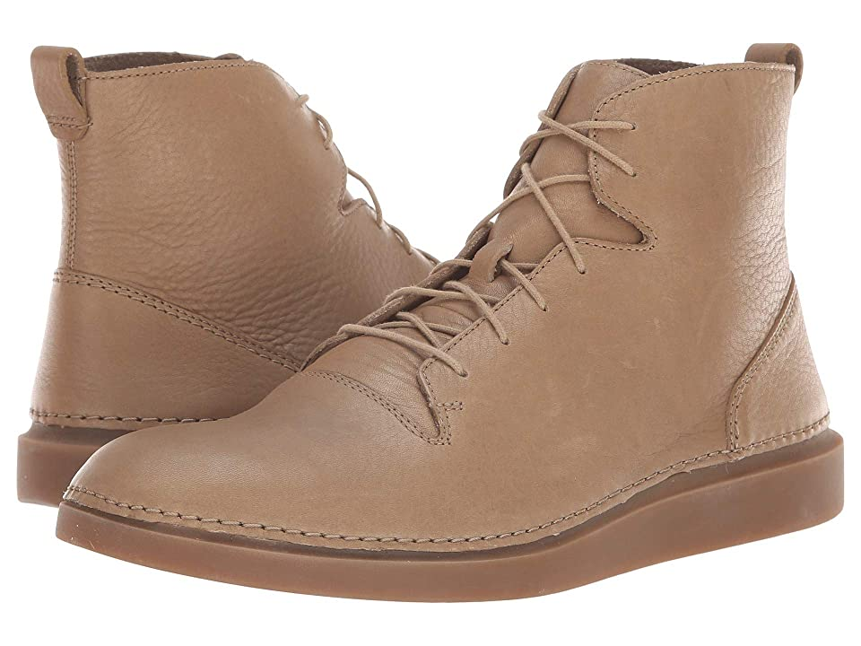 Clarks Hale Rise (Sandstone Leather) Men
