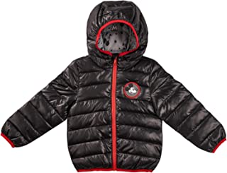 The Arctic Squad Disney Mickey Mouse Black Lightweight Jacket for Toddler