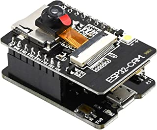 Aideepen ESP32-CAM WiFi Bluetooth Board ESP32-CAM-MB Micro USB to Serial Port CH340G with OV2640 2MP Camera Module Dual Mo...
