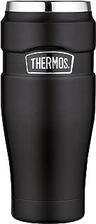Thermos en acier inoxydable Roi Voyage Tumbler - Matt Black (470 ml)