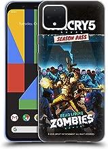 Official Far Cry Dead Living Zombies 5 DLC Art Soft Gel Case Compatible for Google Pixel 4