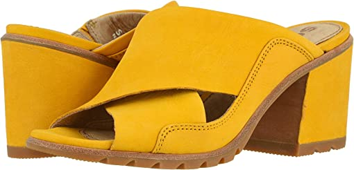 Golden Yellow Nubuck