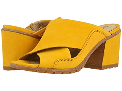 SOREL Nadia Mule (Golden Yellow Nubuck) Women