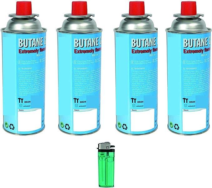 Cartuchos de gas butano universales para cocina de camping ...