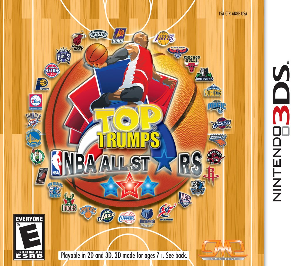 Top Trumps NBA All Purchase 3DS Nintendo Attention brand - Stars