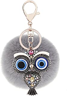RagBear Evil Eye Keychains Wholesale Greek Keychain Purple Small Turkey Meaning