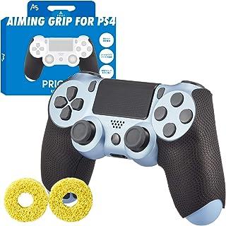 A5(エーファイブ) PS4 エイム コントローラー グリップ 滑り止め【張り替え保証付属】PRIGMA プリグマ AIMINGGRIP+PLUS