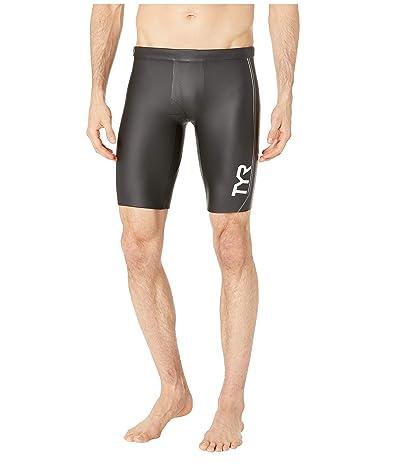 TYR Hurricane Category 1 Neo Shorts (Black/Grey) Men
