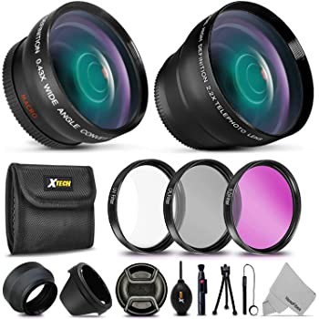 MORE PRO 58mm Accessories KIT w// Filters Xtech Kit for Canon EOS 5D Mark III