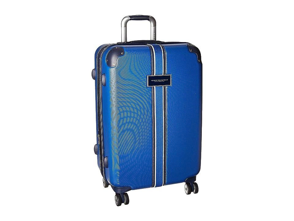 Tommy Hilfiger Classic Hardside 25 Upright Suitcase (Blue) Luggage