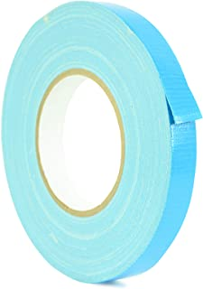 WOD DTC10 Advanced Strength Industrial Grade Sky Blue Duct Tape, 1 inch x 60 yds. Waterproof, UV Resistant For Crafts & Home Improvement (Available in Multiple Sizes & Colors)