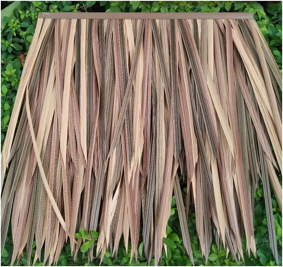 In stock Artificial Simulation Outdoor Decoration Cheap sale Plastic D Thatch