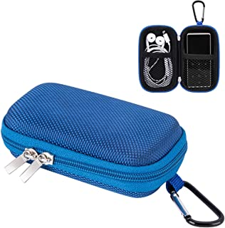 AGPTEK MP3 Player Case,Portable Clamshell Headphones Cover,Holder with Metal Carabiner Clip,for MP3 Players, iPod Nano,iPo...