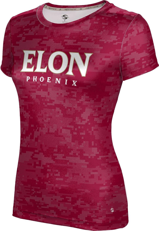 ProSphere Elon University Girls' Performance T-Shirt (Digi Camo)