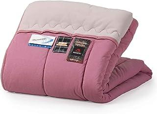 肌布団 綿入毛布 シングル 日本製 ポーラテックと光電子の遠赤効果が暖かい家庭で洗える ローズ カスミソウ