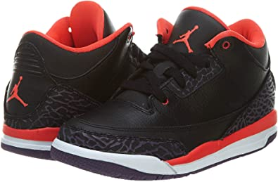 Nike Air Jordan 3 Retro Enfant - Age - Enfant, Couleur - Noir ...