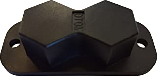 Hexa-Gun Magnet with a 30 lb Rating by DTOM - Best Price for The Strongest Gun Magnet on Amazon Includes Non-Scratch Coating
