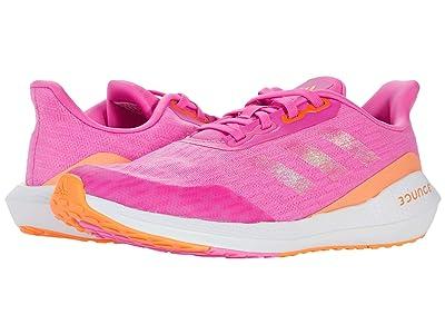 adidas Kids EQ Run (Big Kid) (Screaming Pink/Screaming Orange/White) Kid